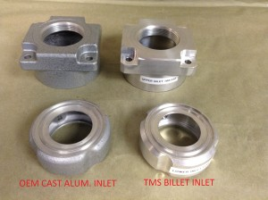 TMS Custom Billet Aluminum Lower Inlet