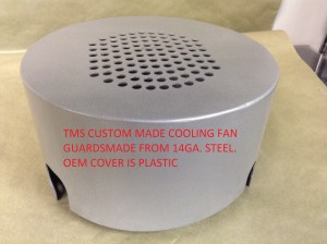 TMS Custom Made Cooling Fan Guard 14GA. Steel No OEM Plastic
