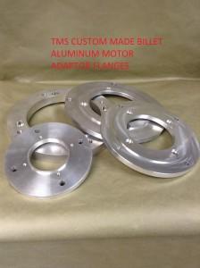 TMS Custom Mae Billet Aluminum Motor Adaptor Flanges