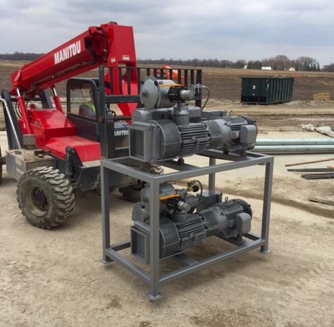 TMS RV630 Vacuum Pumps Delivered to Prestage's Iowa Pork Plant
