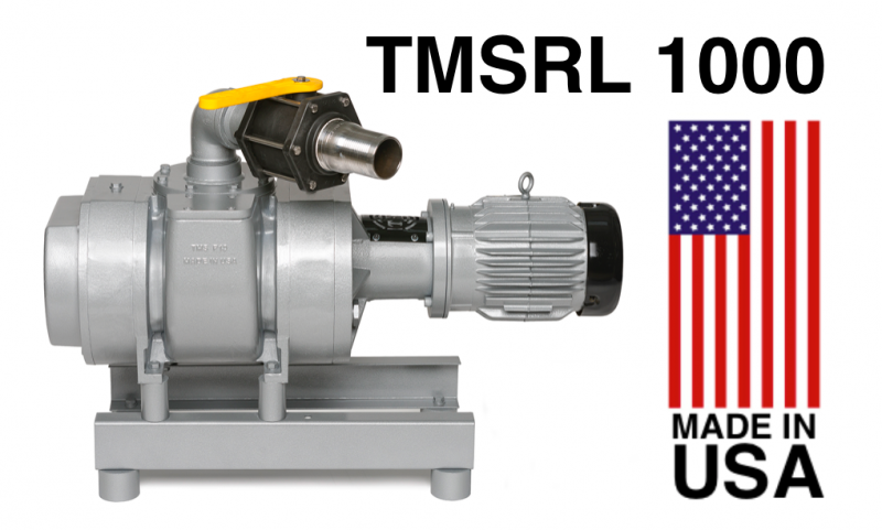 TMS RL 1000 Booster Pump Made in USA