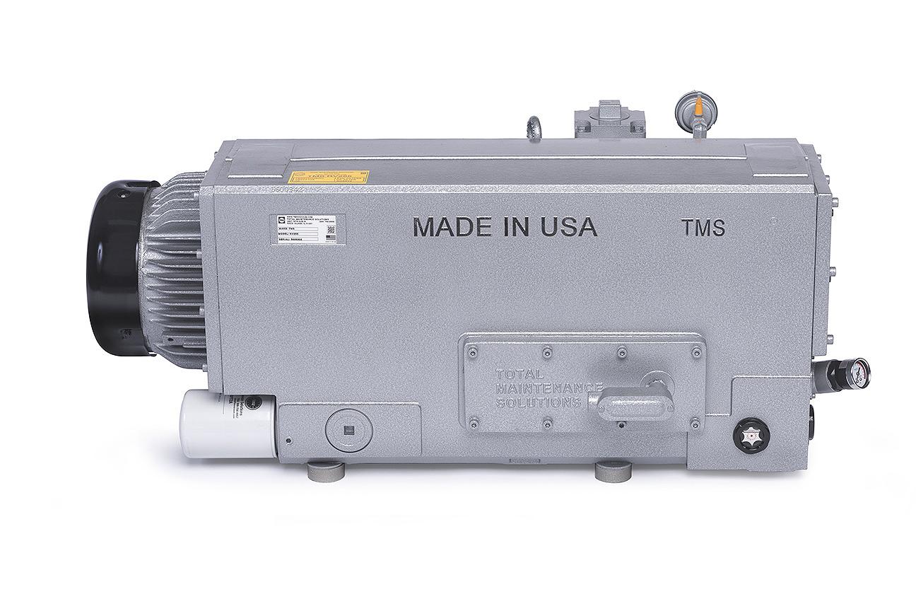TMSRV255 Vacuum Pump Back Side Photo
