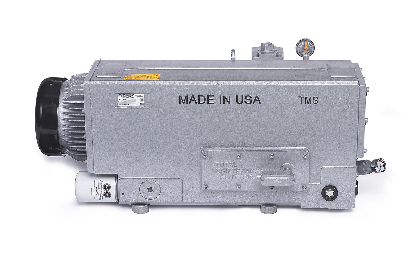 TMSRV305 Vacuum Pump Back Side Photo