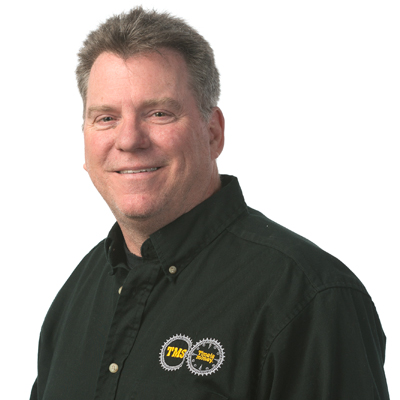 Rob Gilmore, Parts Manager