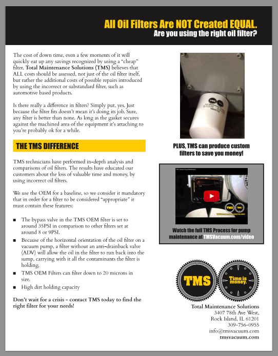TMS Not All Oil Filters Are Created Equally one page .pdf